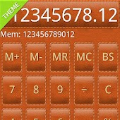 SCalc Leather Theme