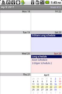 Calendar Pad Pro - screenshot thumbnail