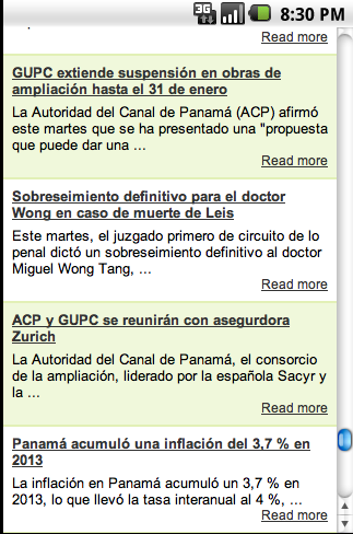 Diarios de Panama