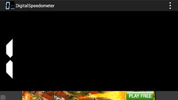 Screenshot of Digital Speedometer