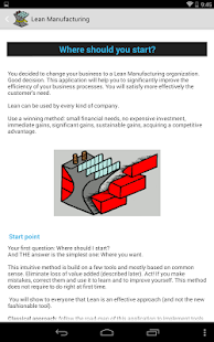 Lean Manufacturing Lite- screenshot thumbnail