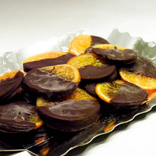 Chocolate Dipped Oranges.