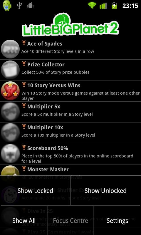 LittleBigPlanet2 Trophies free - screenshot