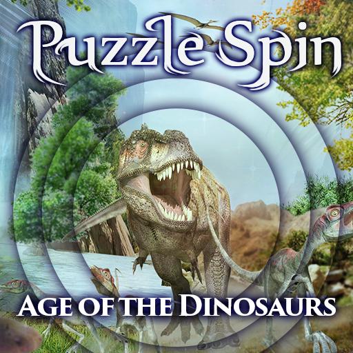 PuzzleSpin - Dinosaurs 解謎 LOGO-阿達玩APP
