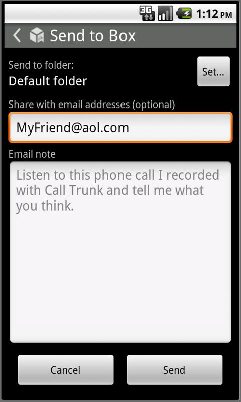 Calltrunk US - screenshot