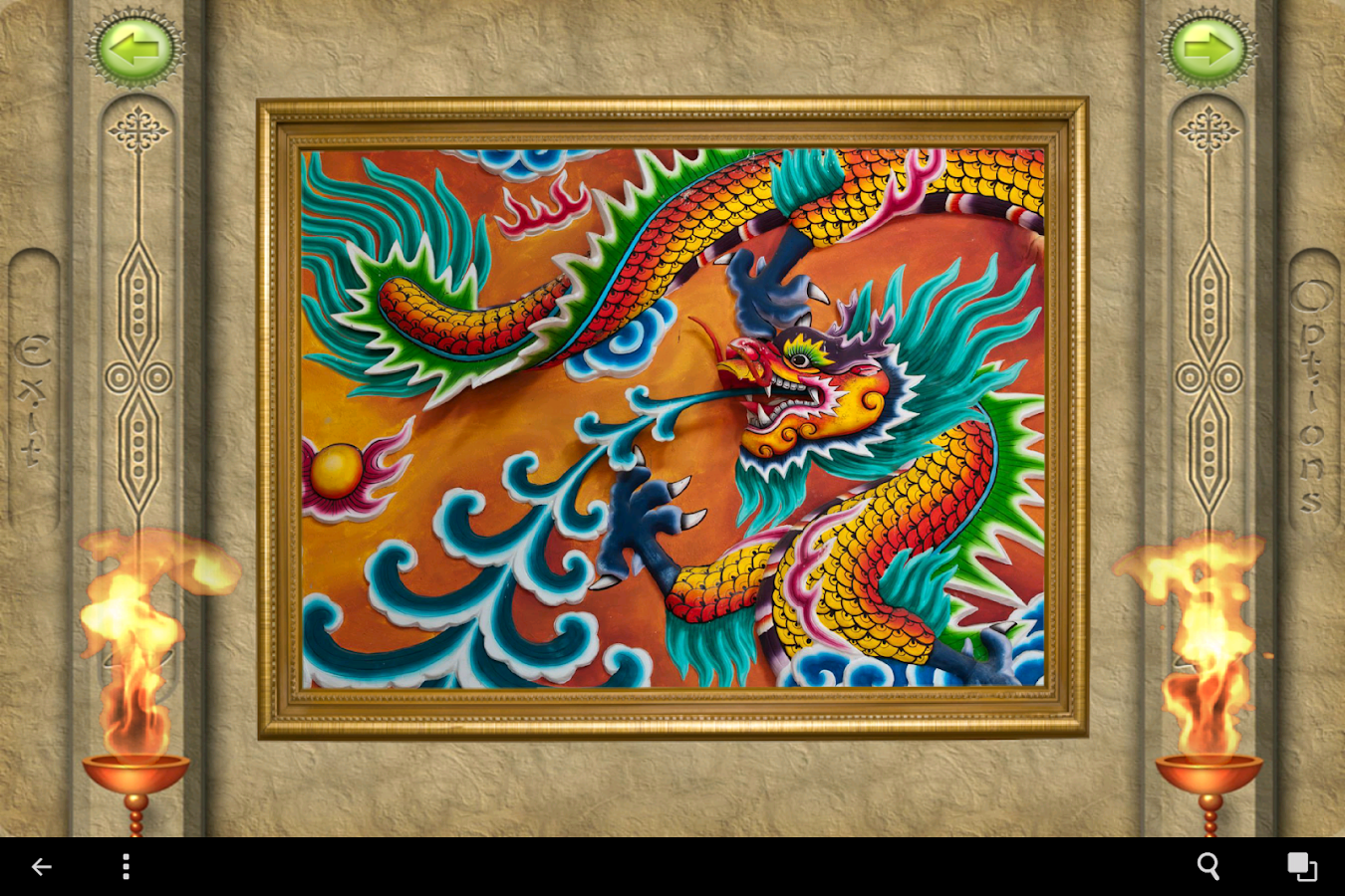 FlipPix Jigsaw - Dragons- screenshot