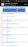 Screenshot of Comanda eletrônica FACILITA 8