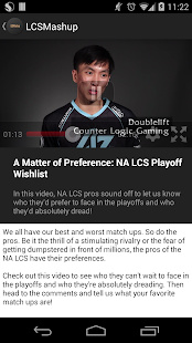 LCS Mashup - screenshot thumbnail