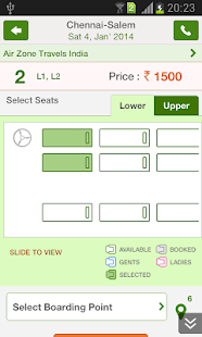 Ticketgoose Online Bus Tickets- screenshot thumbnail