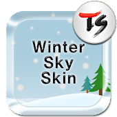 Winter Sky for TS keyboard