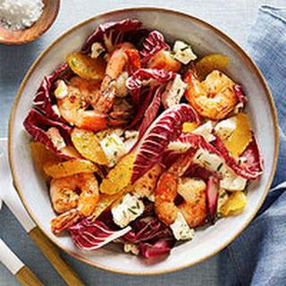 Shrimp & Radicchio Salad.
