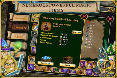 Warlords RTS: Strategy Game Screenshot 3