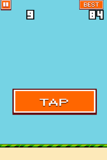 Flappy Button