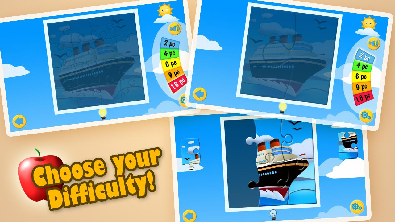 Transport Jigsaw Puzzles Free (Android) reviews at Android Quality Index