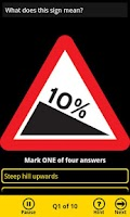 Screenshot of AA Theory Test - Free Edition