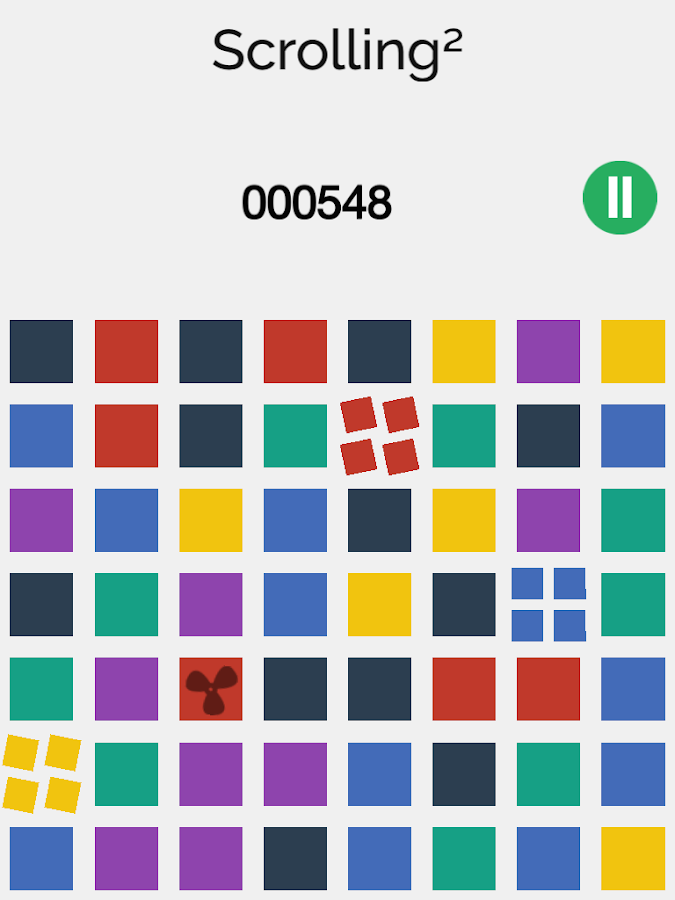 Scrolling² - Match three - screenshot
