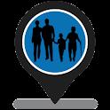 Family Tracker GPS tracking icon