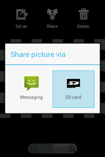 Send to SD card - screenshot thumbnail