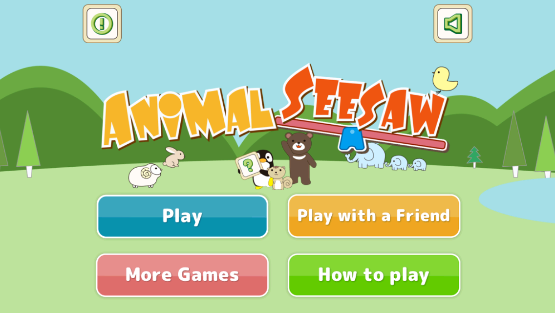 Animal Seesaw- screenshot