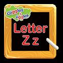 Letter Z for LKG Kids Practice