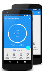 Smart Booster Pro- оптимизатор Screenshot