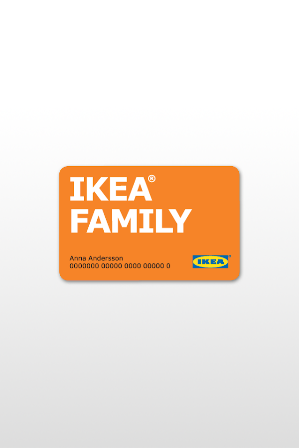 IKEA FAMILY- screenshot
