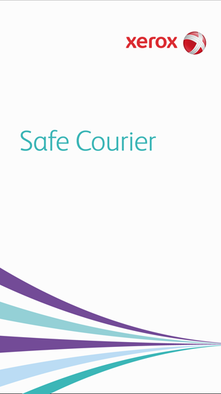 Xerox Safe Courier - screenshot