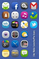 Screenshot of L Launcherpro icons