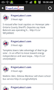 FingerLakes1.com - screenshot thumbnail