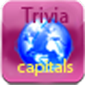 World capitals trivia full logo