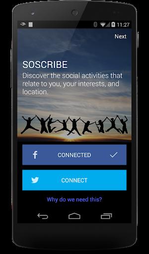 Soscribe: intelligently social