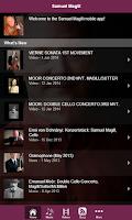 Screenshot of Samuel Magill, Cellist