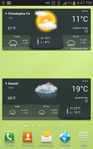 無料天气Appのボブの天気|記事Game