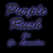 Purple Rush for Go Launcher