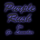 Purple Rush for Go Launcher
