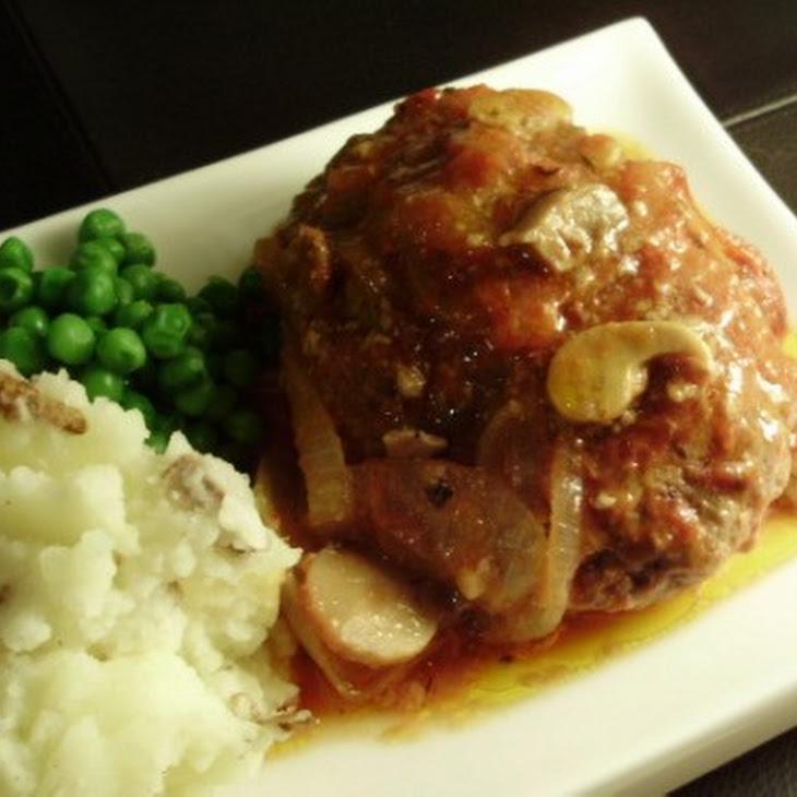 Baked Salisbury Steak Recipe