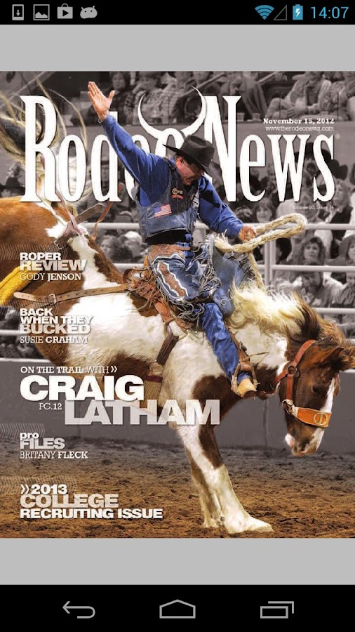 Rodeo News Nothin' But Rodeo- screenshot
