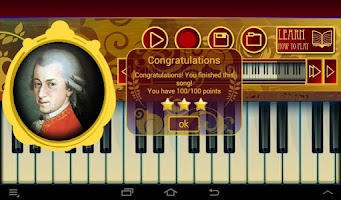 Screenshot of Best Piano Lessons Mozart