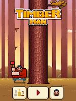 Screenshot of Timberman