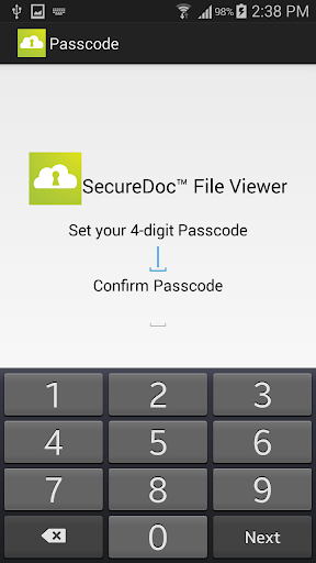 SecureDoc File Viewer