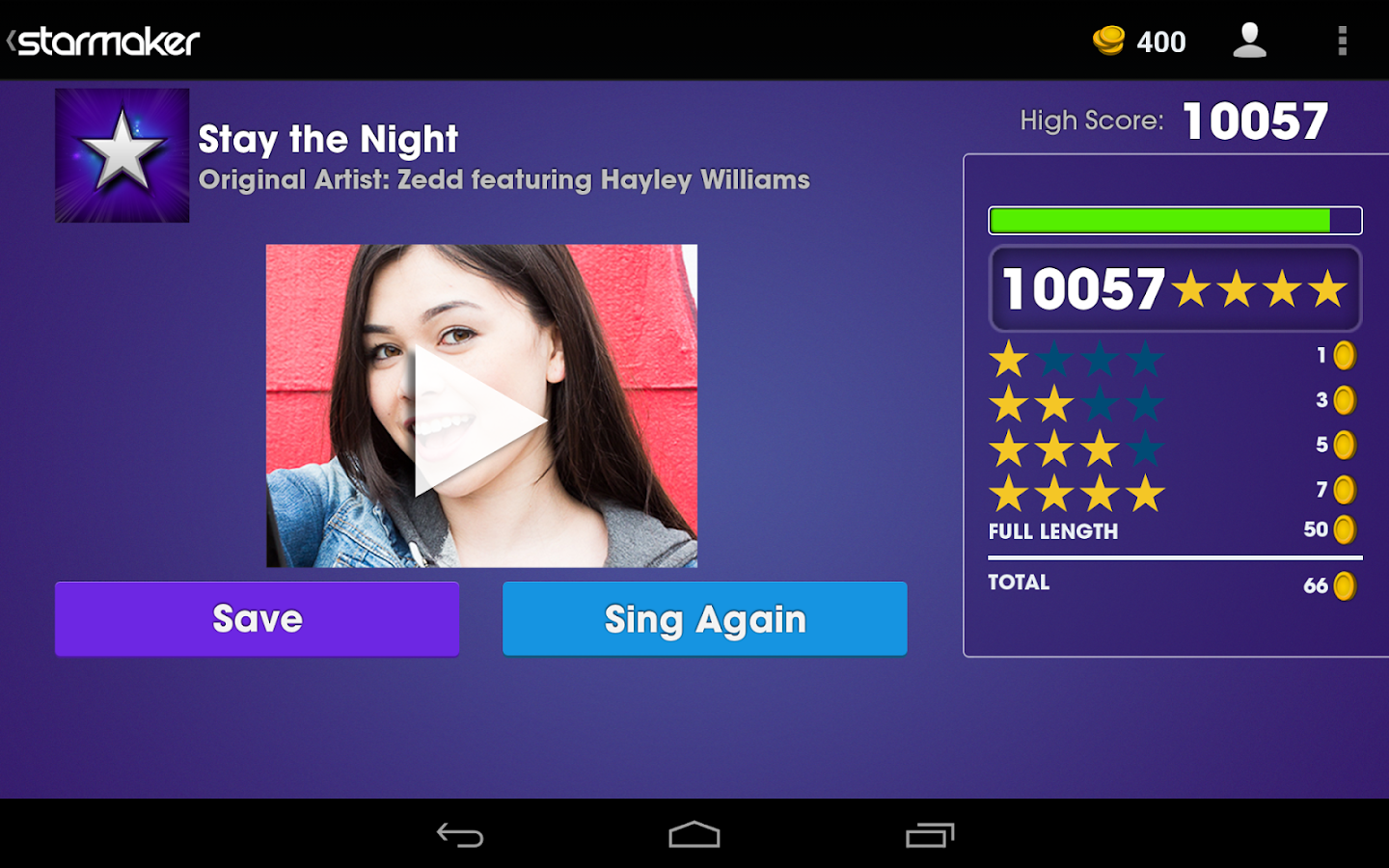 Starmaker Sing Video Screenshot