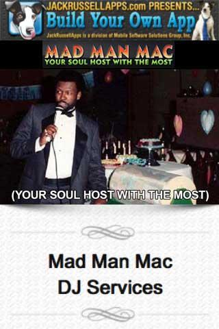 Mad Man Mac DJ Services