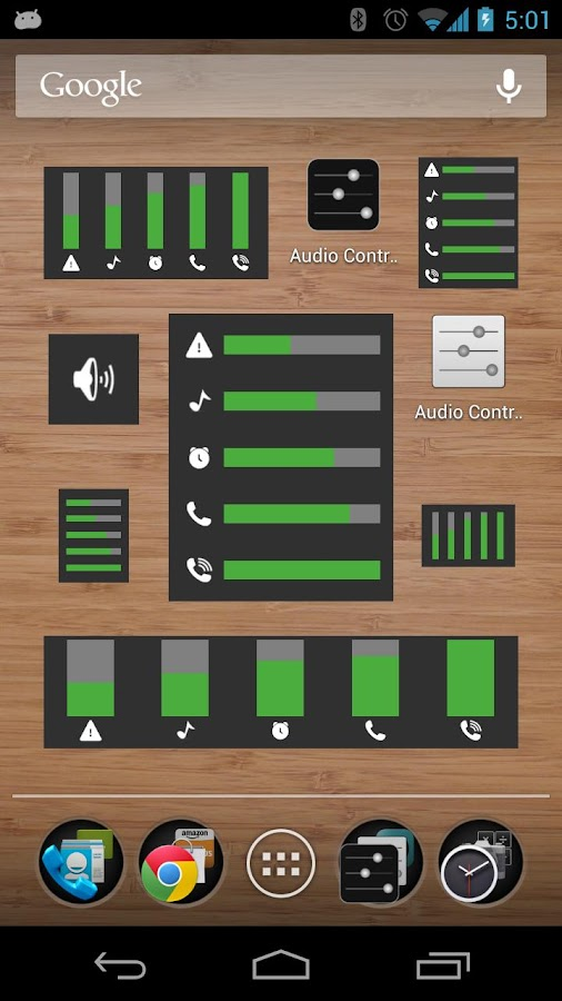 Audio Control Lite - screenshot