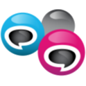 Group and Web Texting icon