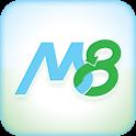 M8 – GPS & Info locales icon