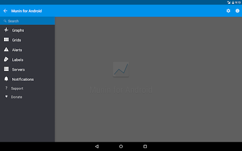 Munin for Android - screenshot thumbnail