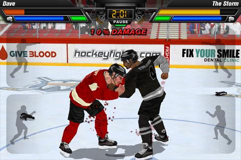 Hockey Fight Lite- screenshot