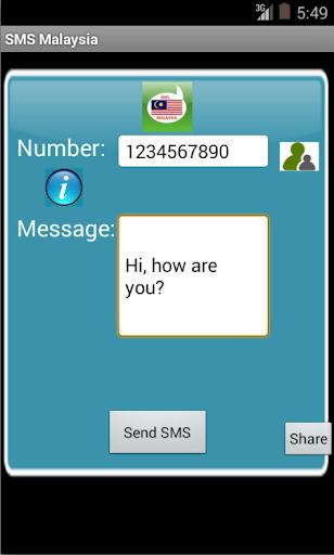 Free SMS Malaysia