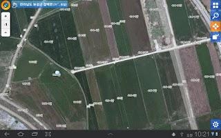 Screenshot of 모바일 도로명주소 시설물 현장조사 지원시스템
