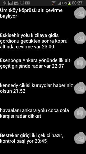 Ankara Çevirme Radar